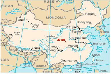 เรียนภาษาที่จีน 1 ปี.XI'AN